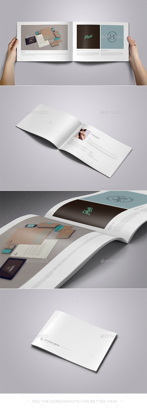 Simply Portfolio Template Vol. 01 - Portfolio Brochures