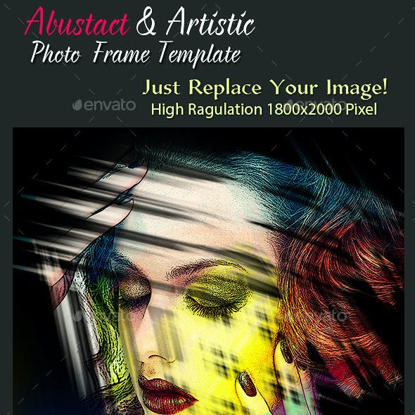 Abstract & Artistic Photo Frame Templates