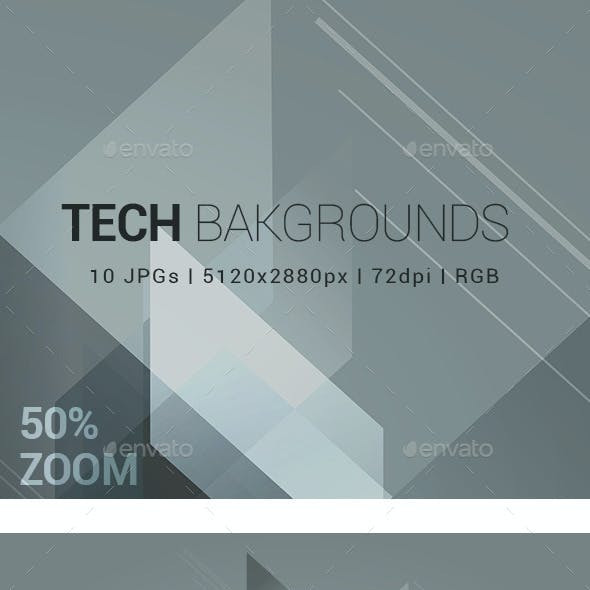 10 Tech Backgrounds