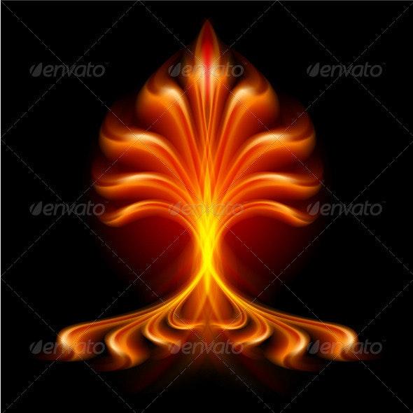 Fire flower - Characters Vectors