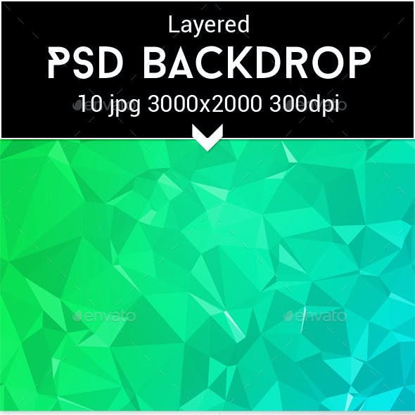 Parallax PSD Backdrop