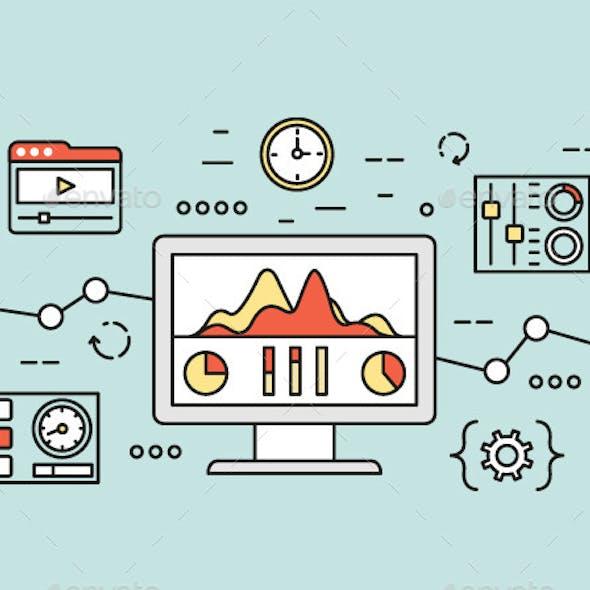 Website Analytics Search Information