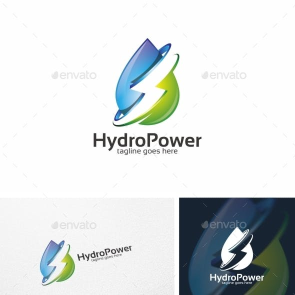 Hydro Power / Water - Logo Template