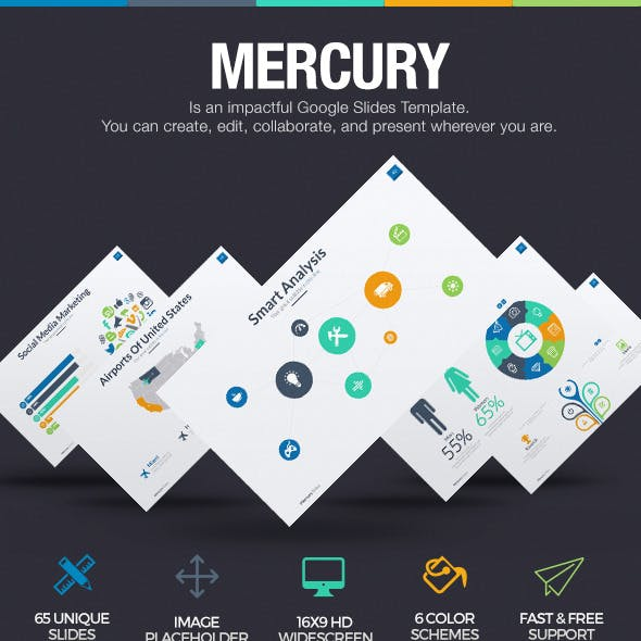 Mercury - Google Slides Template