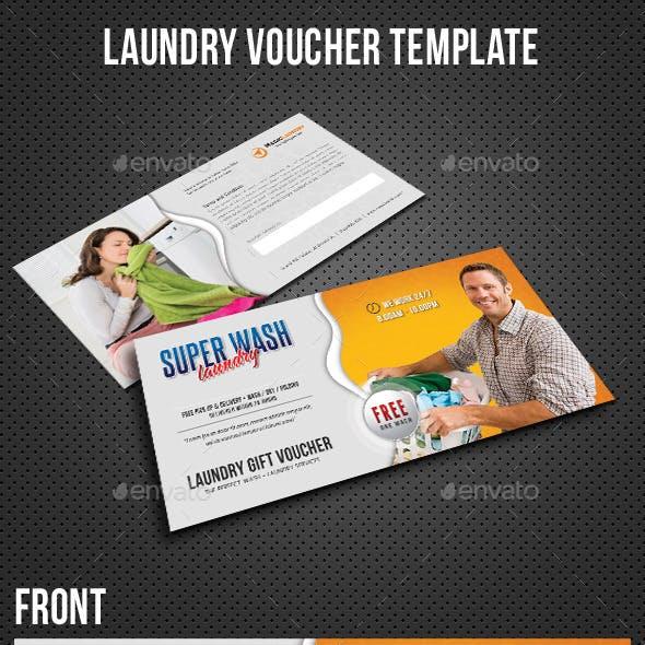 Laundry Services Gift Voucher
