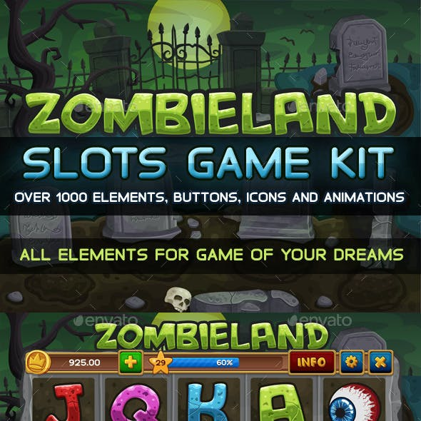 Zombieland slots game KIT