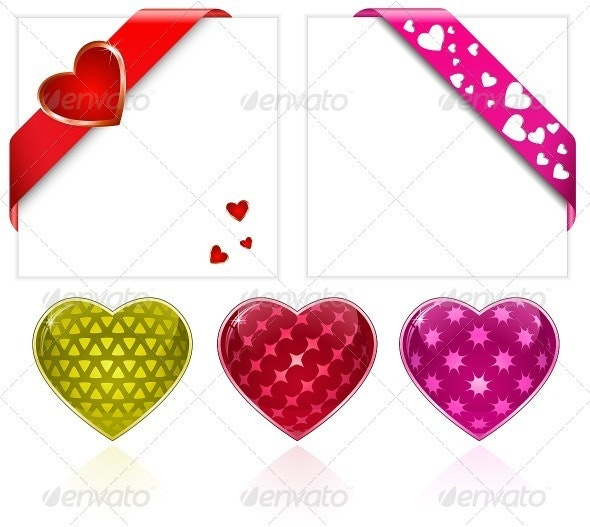 Valentine's Vector Hearts Collection - Valentines Seasons/Holidays