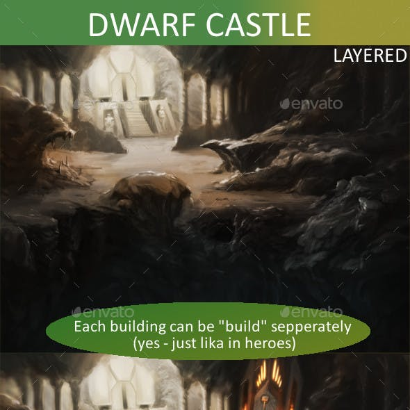 Dwarf Castle set