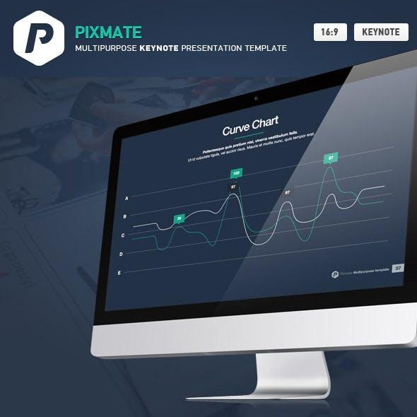 PixMate Keynote Presentation Template