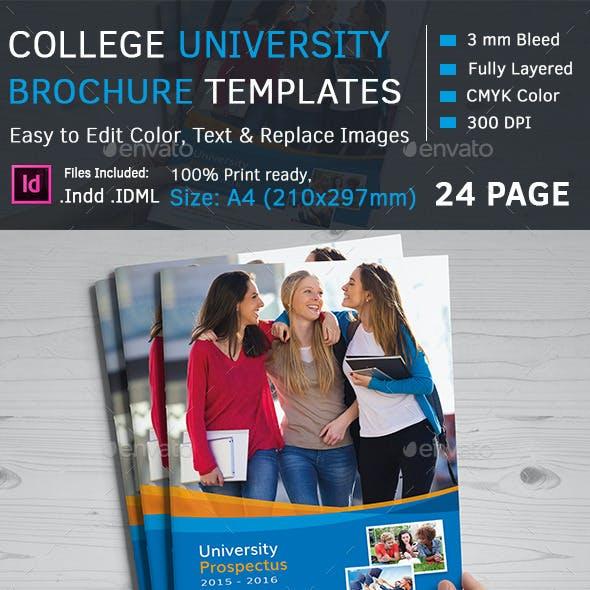 College/University Prospectus