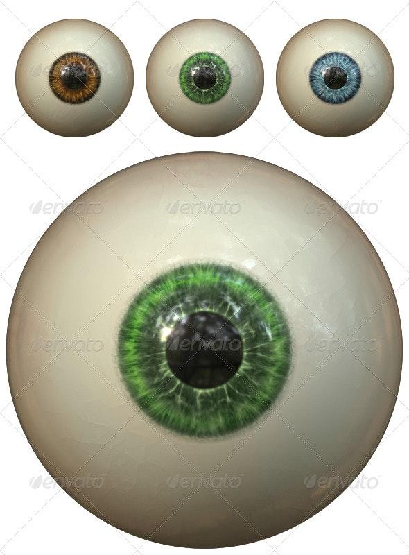 Eyeballs - Miscellaneous 3D Renders