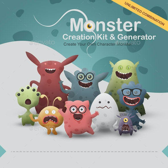 Monster Creation Kit and Generator