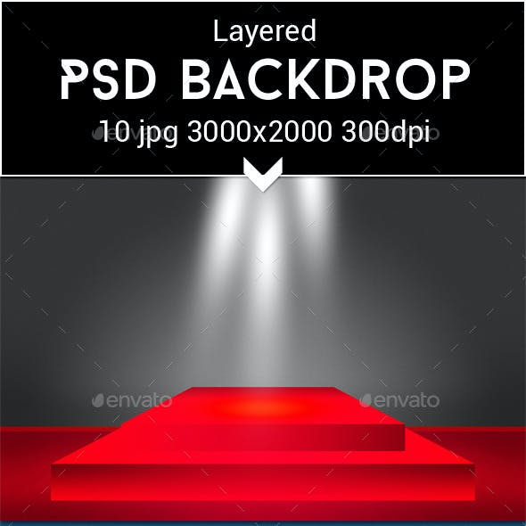 Show PSD Backdrop