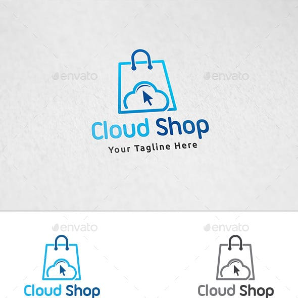 Cloud Shop Logo