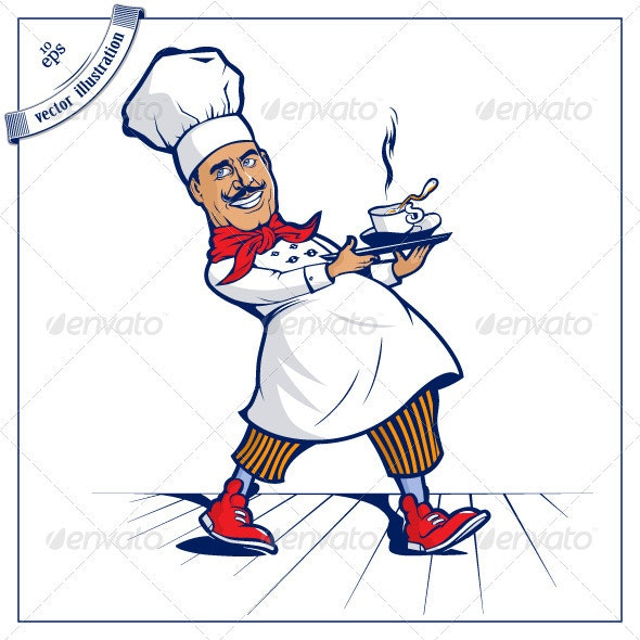 Chef Cook - People Characters