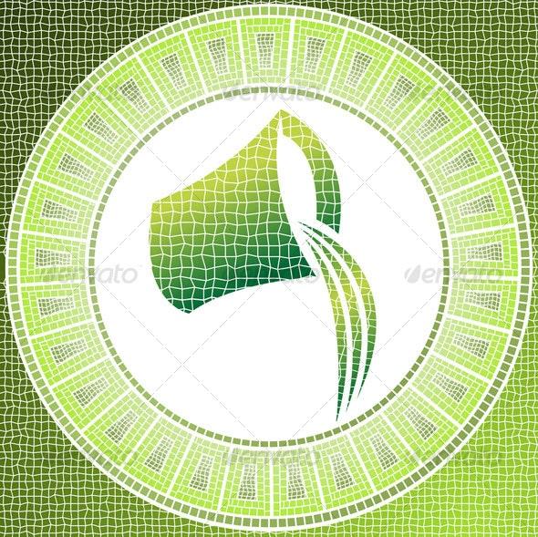 Aquarius zodiac sign - Nature Conceptual