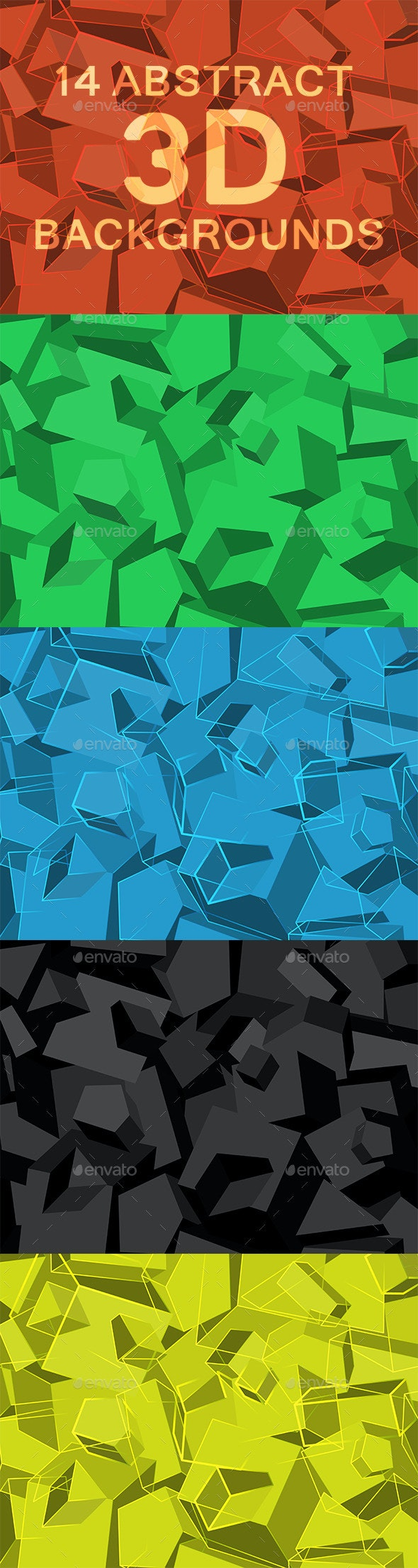 14 Abstract 3D  Backgrounds - Backgrounds Graphics