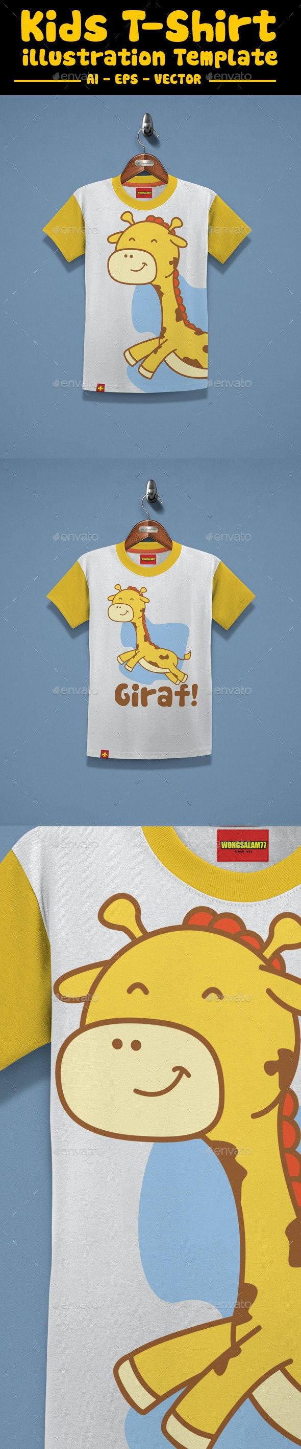 Kids T-Shirt Design