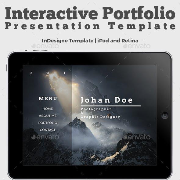 Interactive Portfolio Prezentation