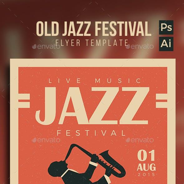 Old Jazz Festival Flyer