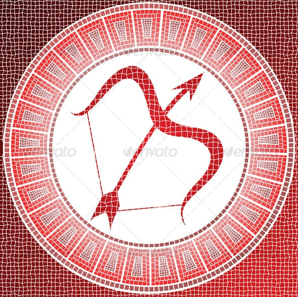 Sagittarius zodiac sign - Man-made Objects Objects