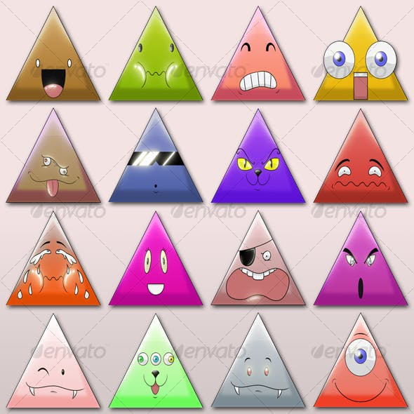 ULTIMATE Krazy Triangles ! (400 combinations)