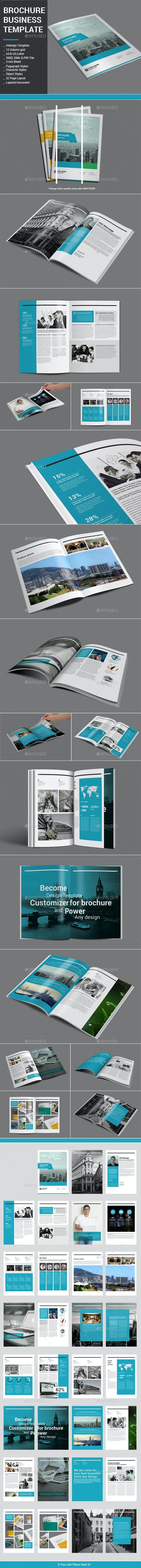 Brochure Business Template - Corporate Brochures