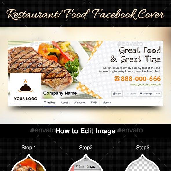 Restaurant/Food Facebook Cover