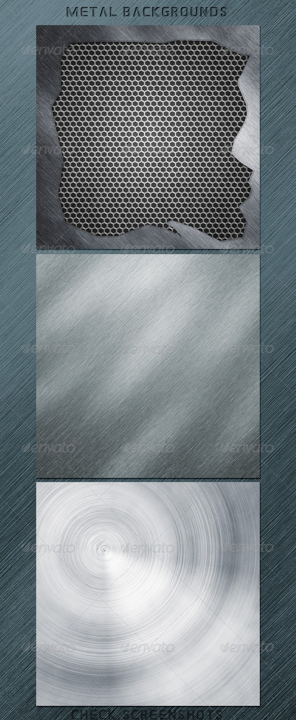 Metal Backgrounds - Tech / Futuristic Backgrounds