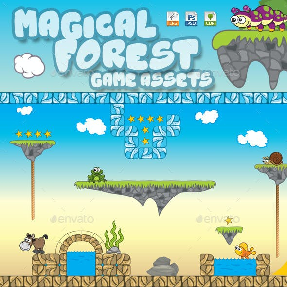 Magical Forest Assets V200