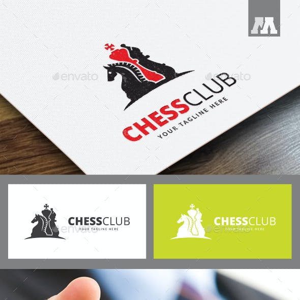 Chess Club Logo Template