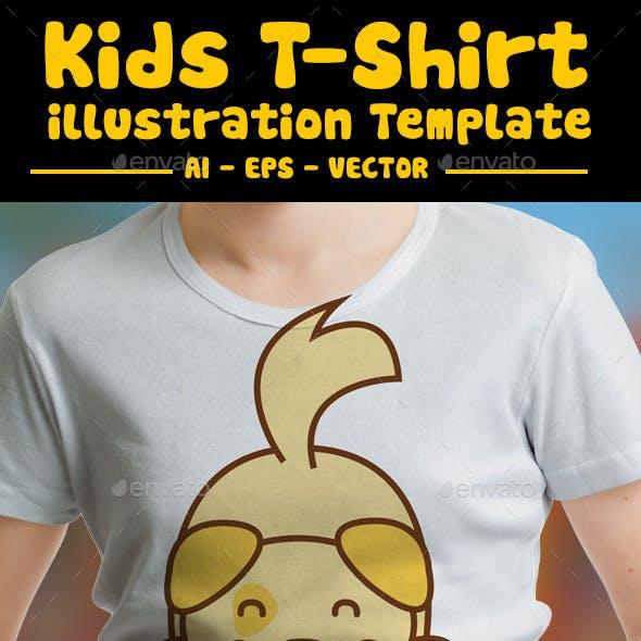 Puppy Kids T-Shirt Design