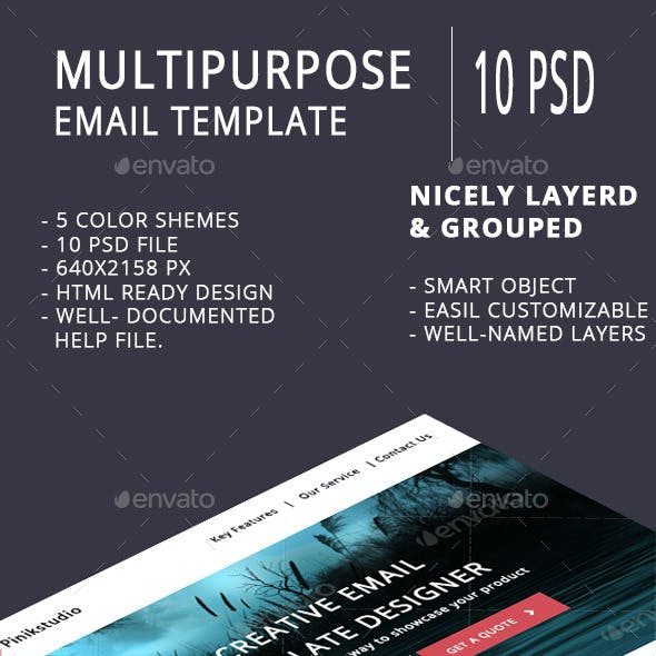 Multipurpose Email Template V2