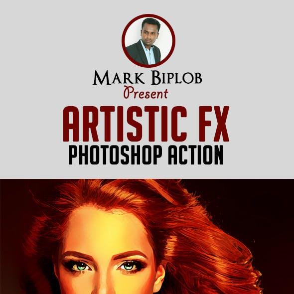 Smart Artistic FX Photoshop Action