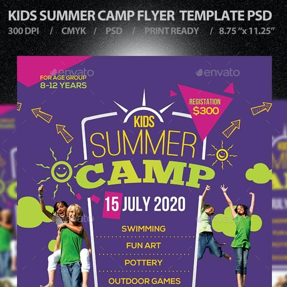Kids Summer Camp Flyer V1