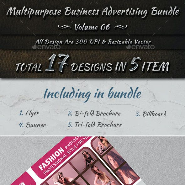 Multipurpose Business Advertising Bundle | Vol 6