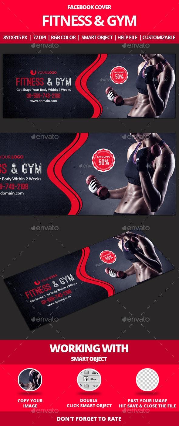 Fitness & Gym Facebook Cover - Facebook Timeline Covers Social Media