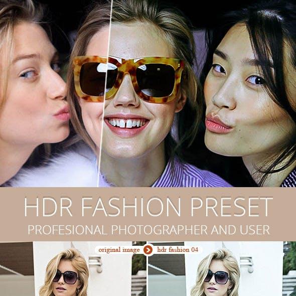 20 HDR Fashion Preset
