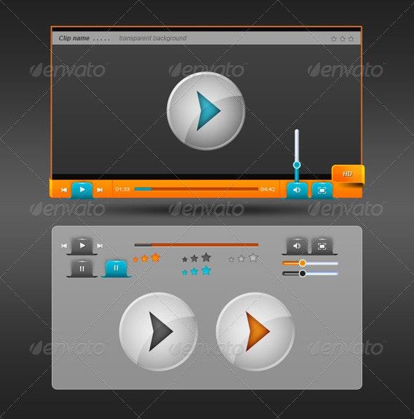Creative HD Media Player - Miscellaneous Web Elements