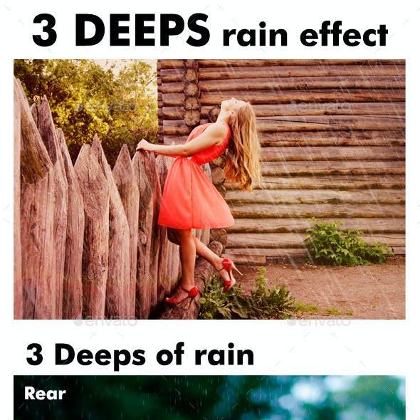 3 Deeps Rain Effect