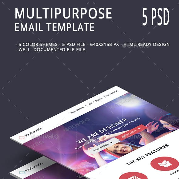 Multipurpose Email Template