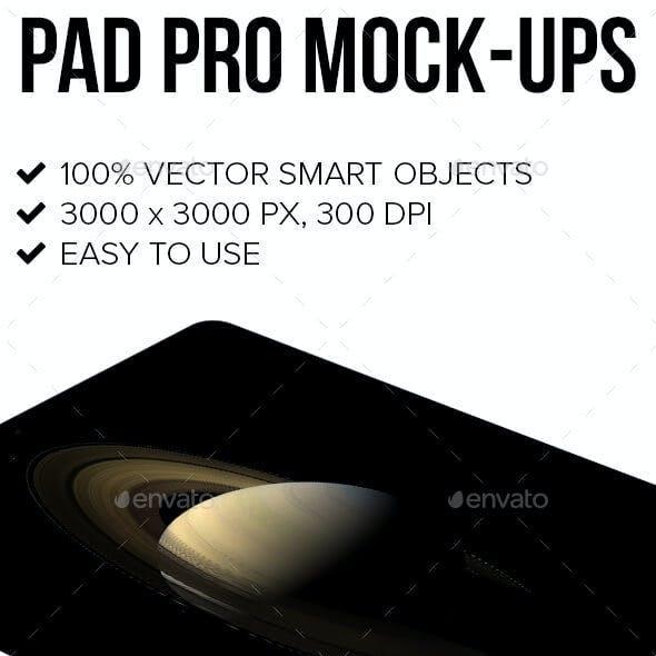 Pad Pro Mock-ups