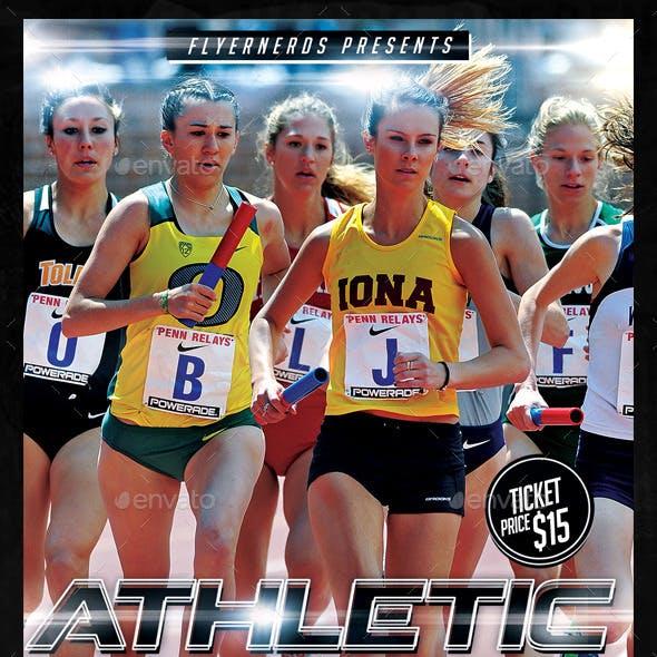 Athletic Runner Sports Flyer