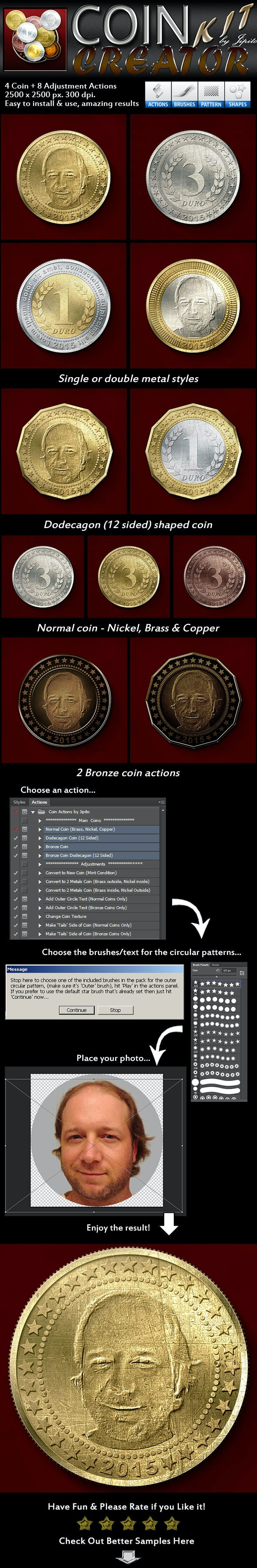 Coin Creator Kit - Utilities Actions