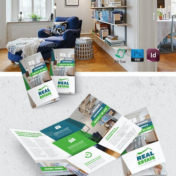 Real Estate Tri-Fold Templates
