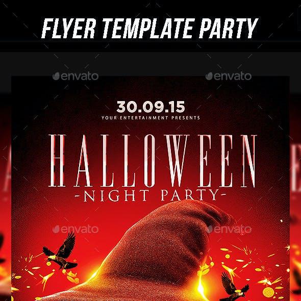 Halloween Night Party