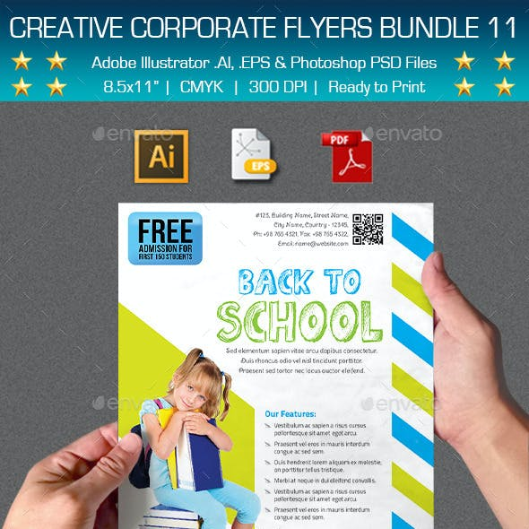 Creative Multipurpose Flyers Bundle 11