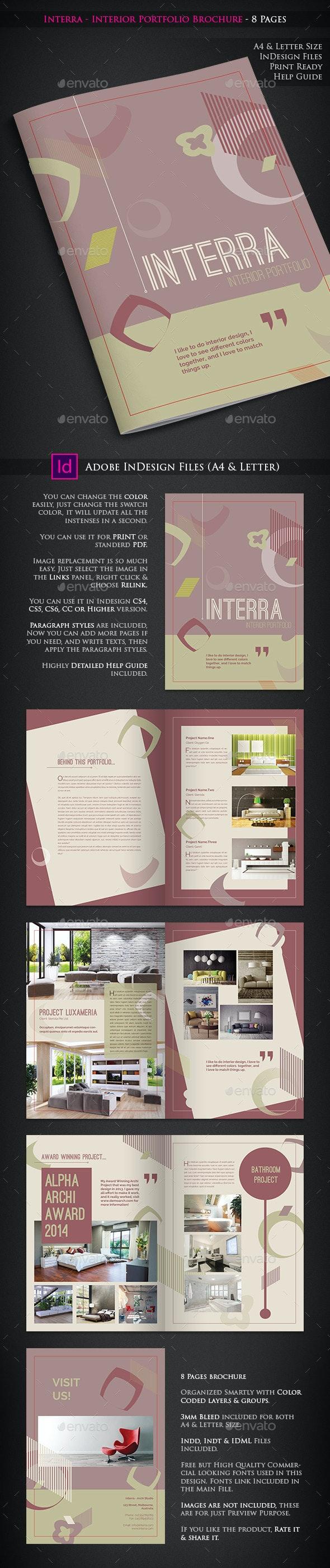 Interra - Interior Portfolio Brochure - Catalogs Brochures