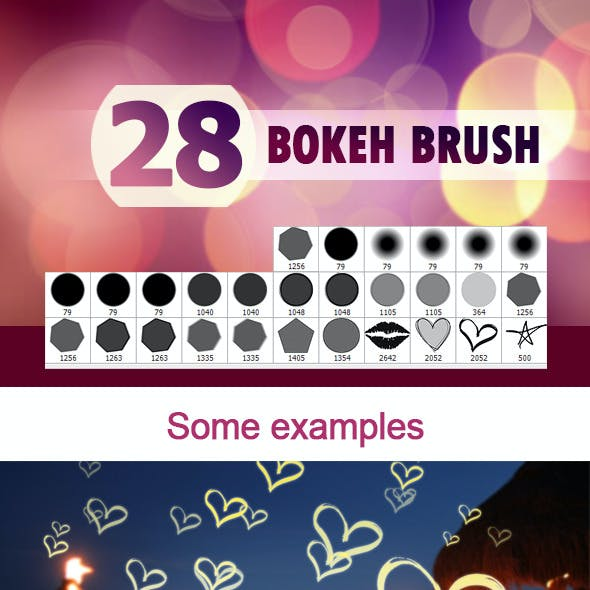 28 Bokeh Brushes