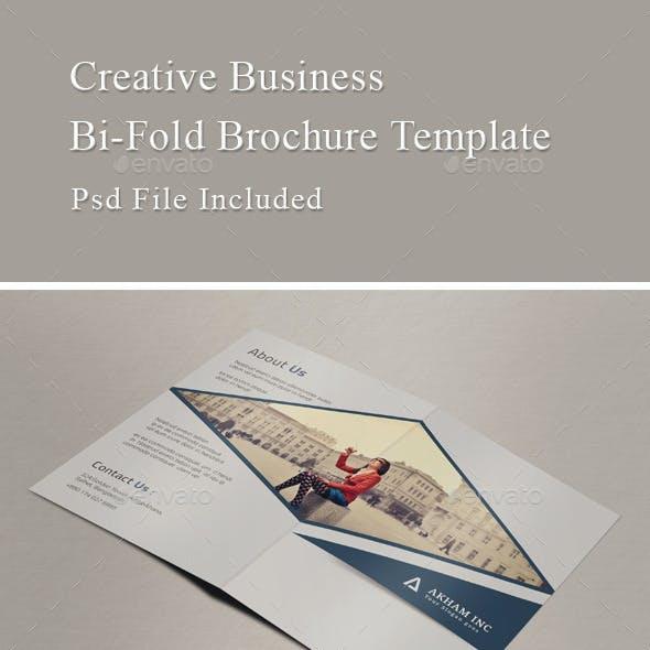 Modern Business Bi-Fold Brochure